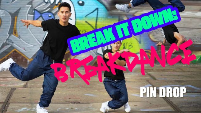 Breakdance per principianti: il pin drop