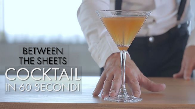 Cocktail in 60 secondi: Between the Sheets
